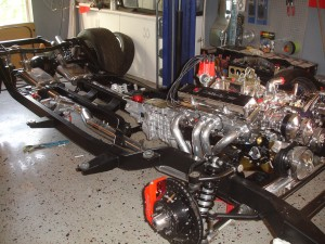55 chassis and motor